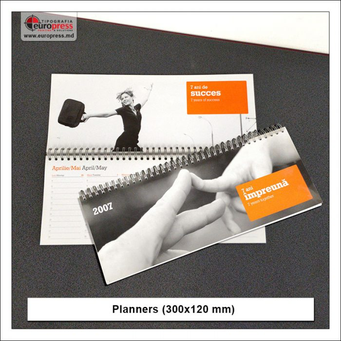 Planners 300x120 mm - Variety of organizers and planners - Europress Printing House
