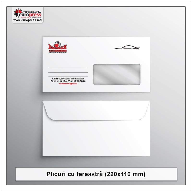 Plicuri cu fereastra - Varietate Plicuri - Tipografia Europress