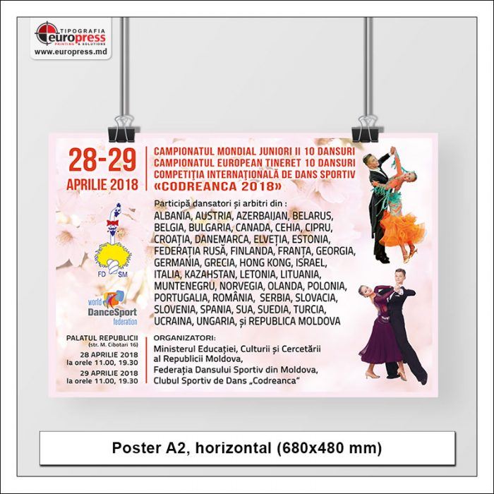 Poster A2 horizontal - Variety of Posters - EuroPress Printing House