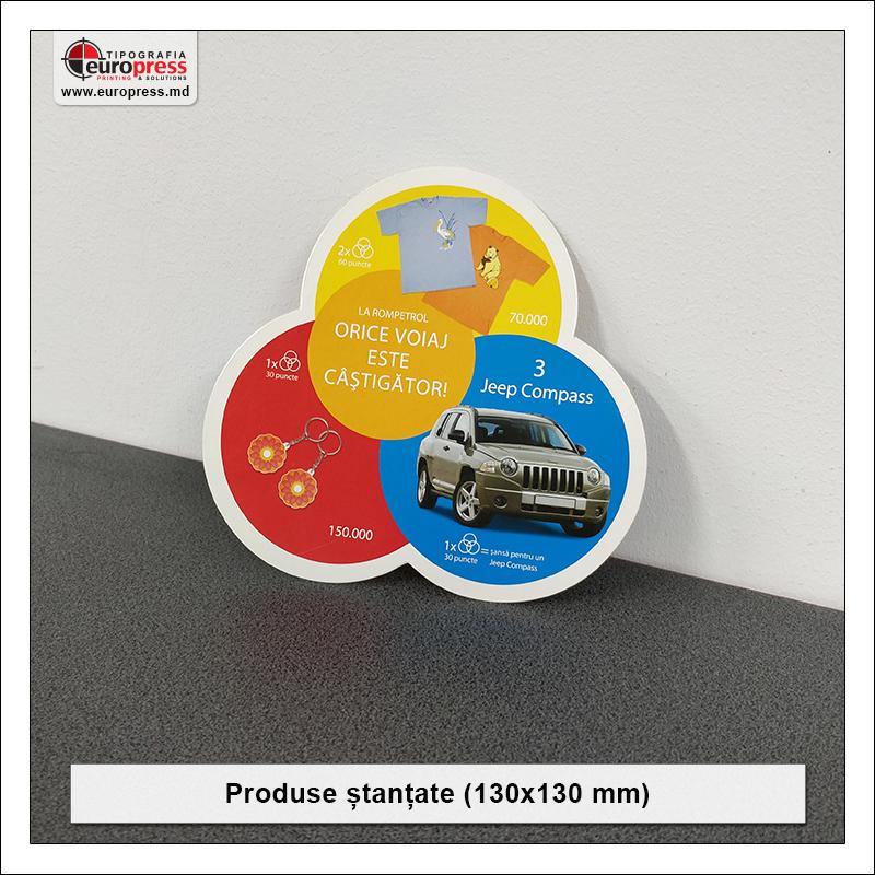 Produs stantat 130x130 mm - Varietate Produse Stantate - Tipografia Europress