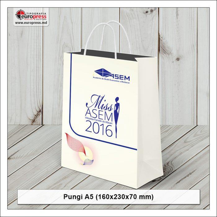 Punga A5 - Varietate Pungi din hartie - Tipografia Europress