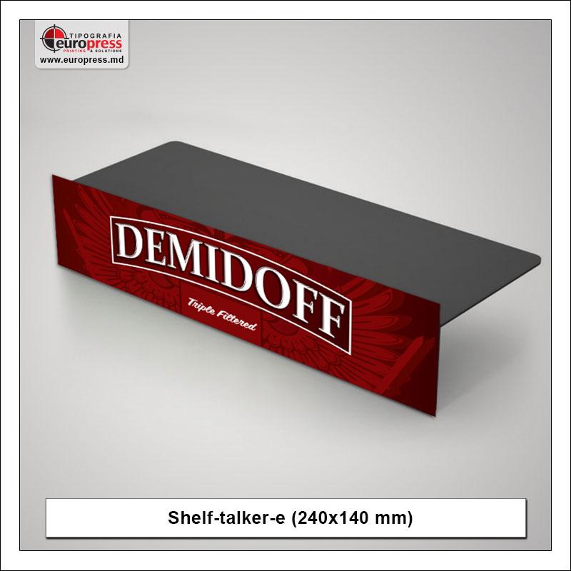 Shelf-Talker model 1 - Varietate Shelftalkere - Tipografia Europress
