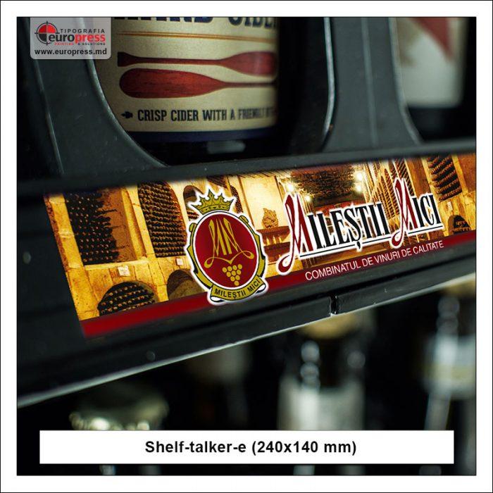 Shelf-Talker model 5 - Varietate Shelftalkere - Tipografia Europress