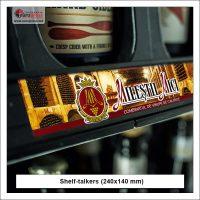 Shelf talker 240x140 mm style 5 - Variety of Shelf talkers - Europress Printing House