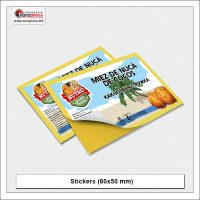 Stickers 80x50 mm - Variety of Stickers - Europress Printing House