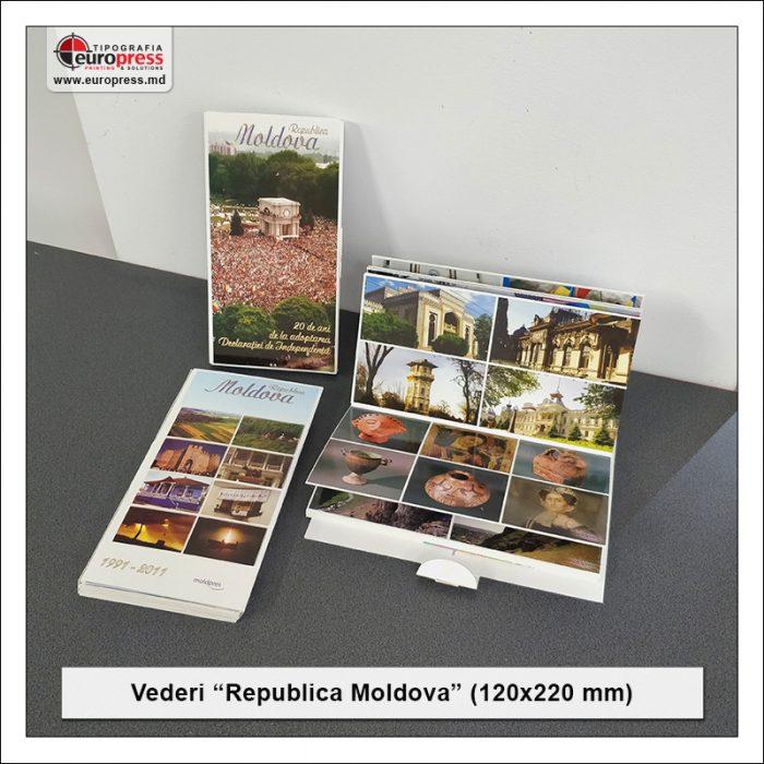 Vederi Republica Moldova - Varietate Carti Postale - Tipografia Europress