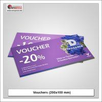 Voucher 200x100 mm model 1 - Variety of Vouchers - Europress Printing House