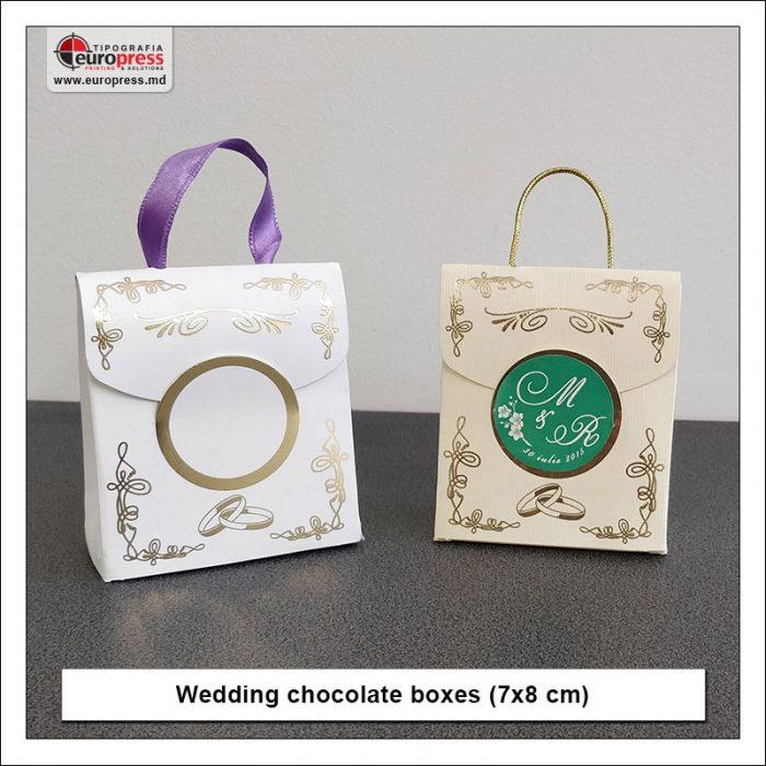 Wedding invitation boxed - variety of wedding invitations - Europress Printing House