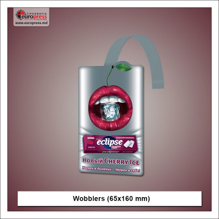 Wobblers 65x160 mm - Variety of Wobblers - Europress Printing Europress