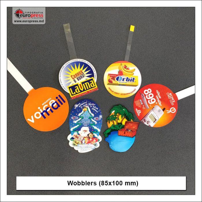 Wobblers 85x100 mm various - Variety of Wobblers - Europress Printing Europress