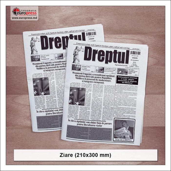 Ziar 210x300 mm - Varietate ziare - Tipografia Europress