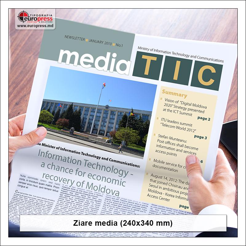 Ziar media - Varietate ziare - Tipografia Europress