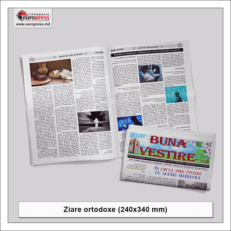 Ziare ortodoxe - Varietate ziare - Tipografia Europress