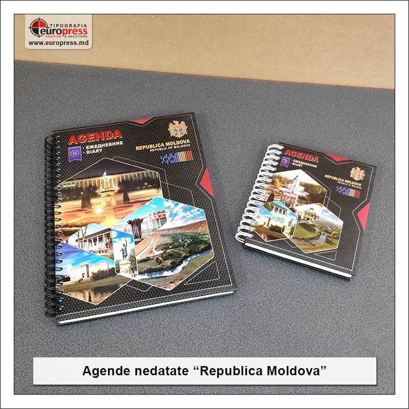 Agende Moldova - Varietate Produse Brand Moldova - Tipografia Europress