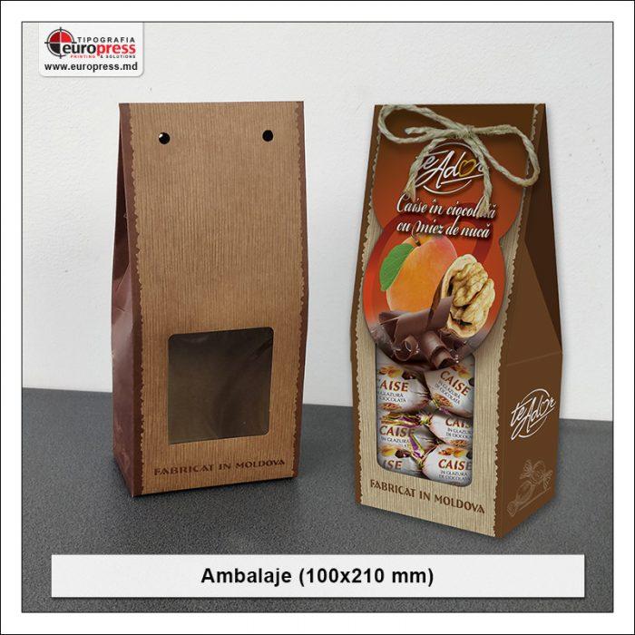 Ambalaje 100x210 mm - Varietate Ambalaje - Tipografia Europress