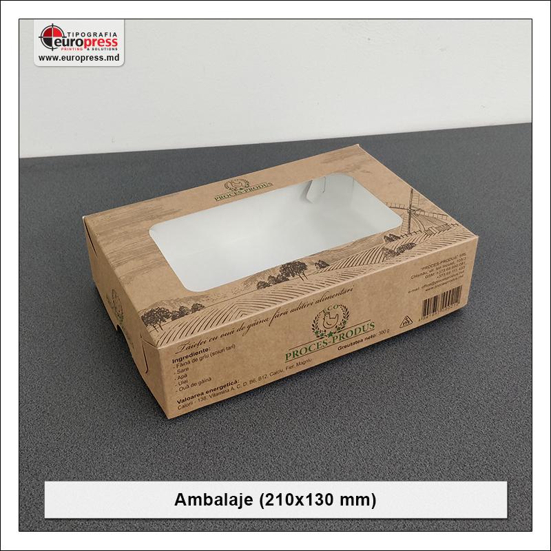 Ambalaje 210x130 mm - Varietate Ambalaje - Tipografia Europress