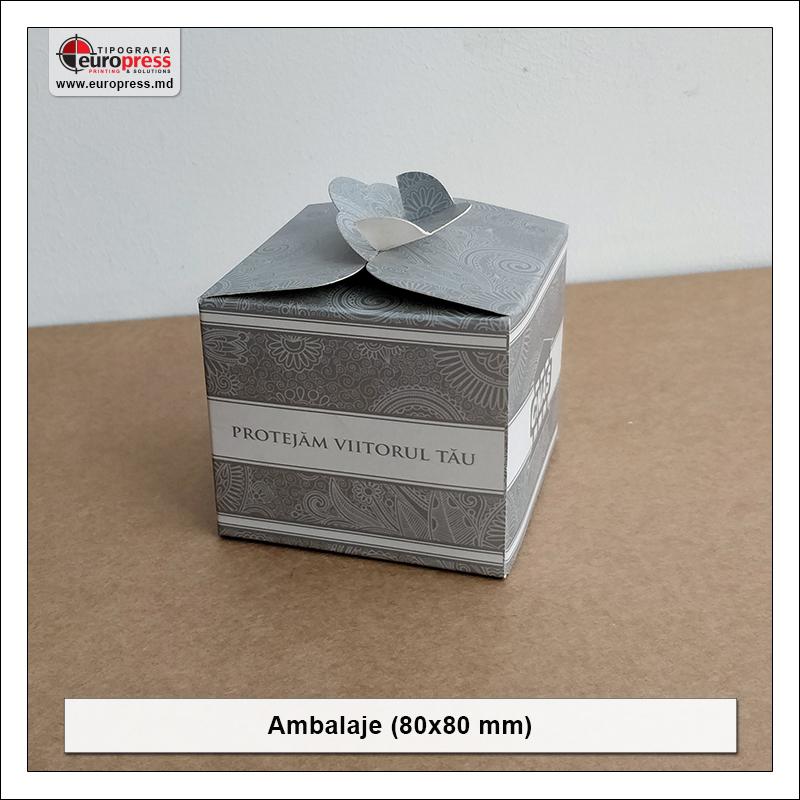 Ambalaje 80x80 mm - Varietate Ambalaje - Tipografia Europress
