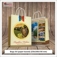 Bags A4 paper based 230x340x100 mm - Variety of Paper Bags - Europress Printing House