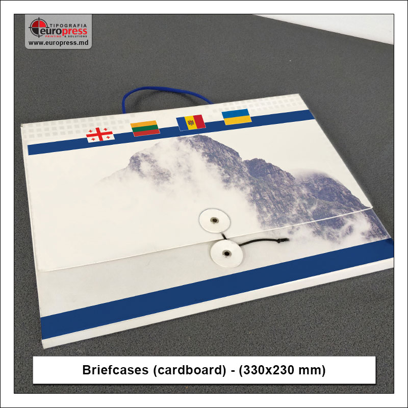 Briefcases cardboard 330x230 mm 2 - Variety of Briefcases Cardboard - Europress Printing House