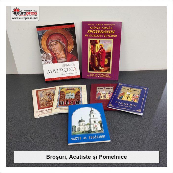Brosuri si Acatiste si Pomelnice - Varietate Articole Bisericesti - Tipografia Europress