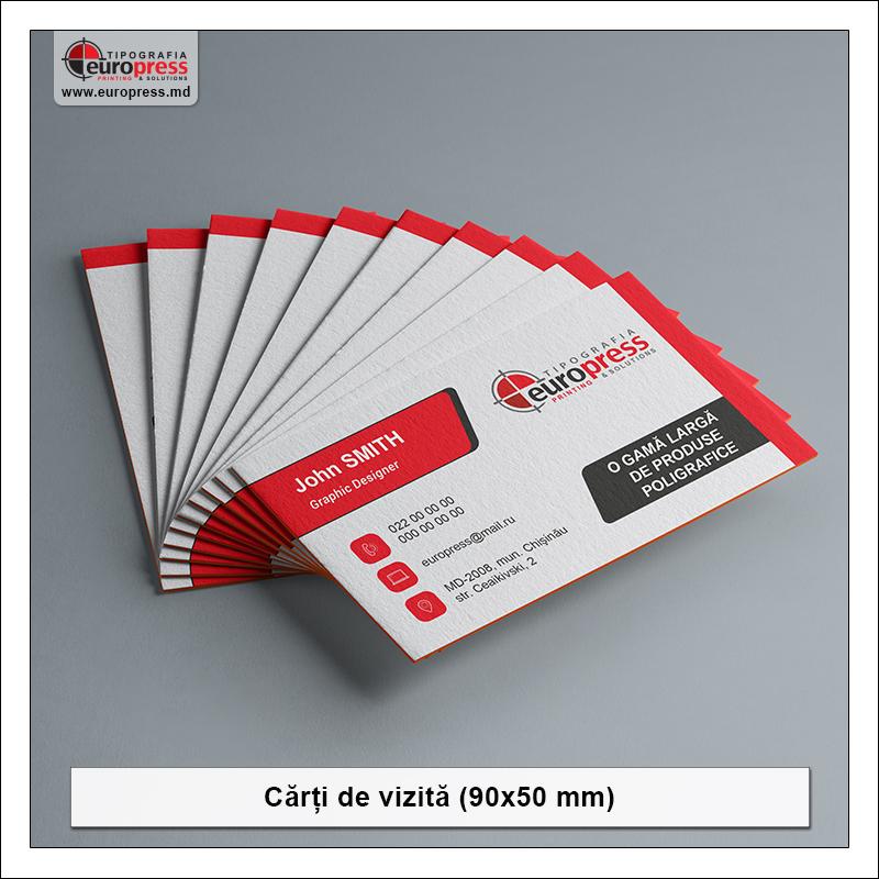 Carti de vizita stil 1 - Varietate Carti de Vizita - Tipografia Europress