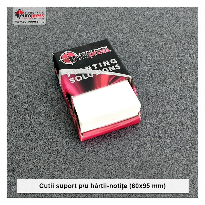 Cutie suport pentru hartii notite 60x90 mm - Varietate Cutii Suport Pentru Hartii Notite - Tipografia Europress