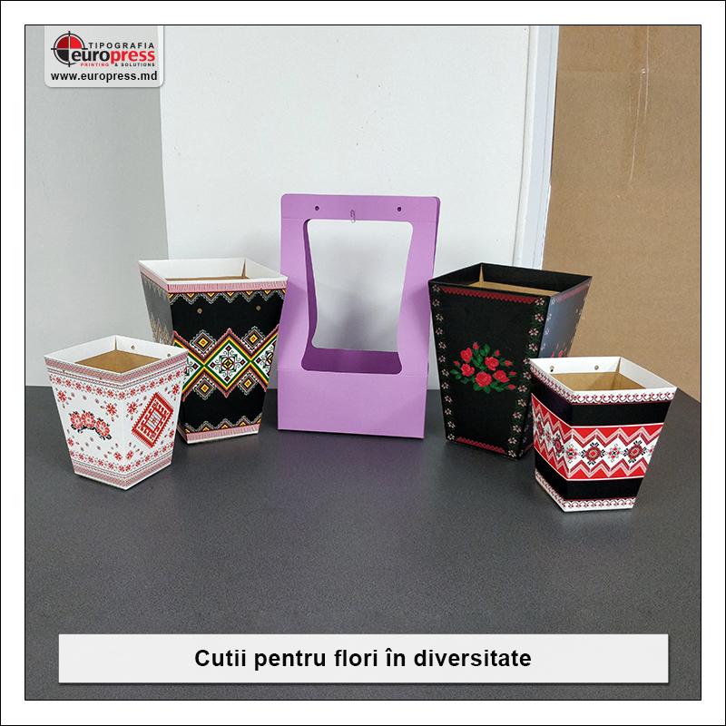 Cutii pentru flori - Varietate Cutii Diverse Forme - Tipografia Europress