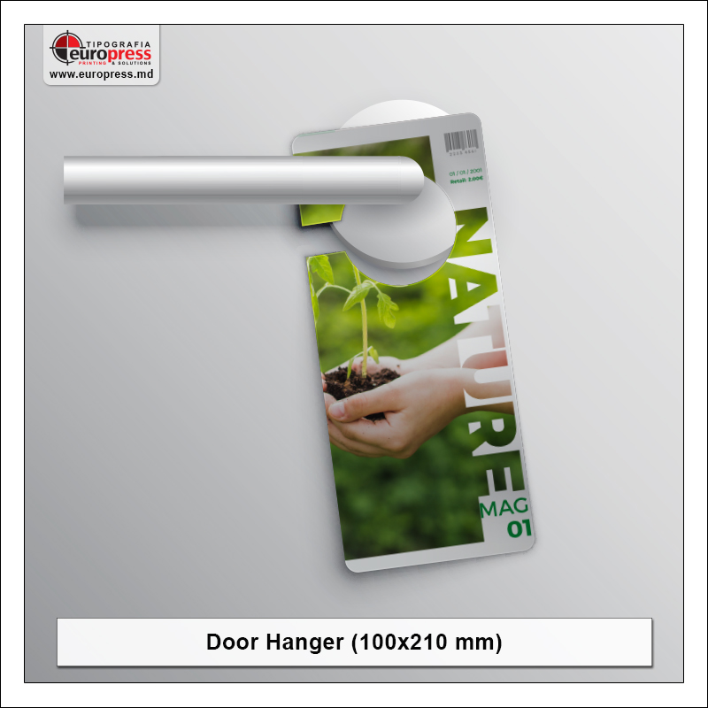 Door Hanger 100x210 mm - Varietate Door Hangere - Tipografia Europress