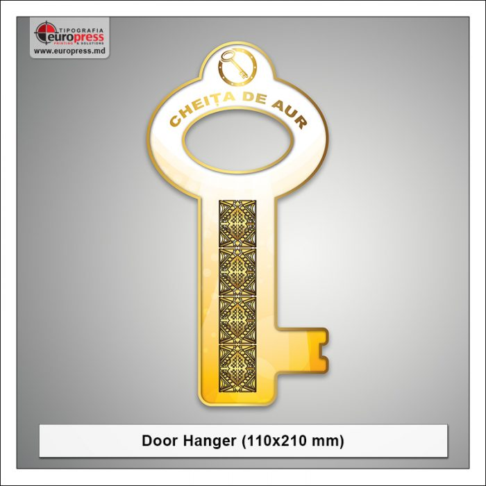 Door Hanger 110x210 mm - Varietate Door Hangere - Tipografia Europress