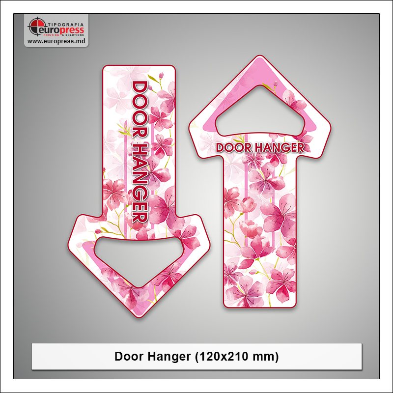 Door Hanger 120x210 mm - Varietate Door Hangere - Tipografia Europress