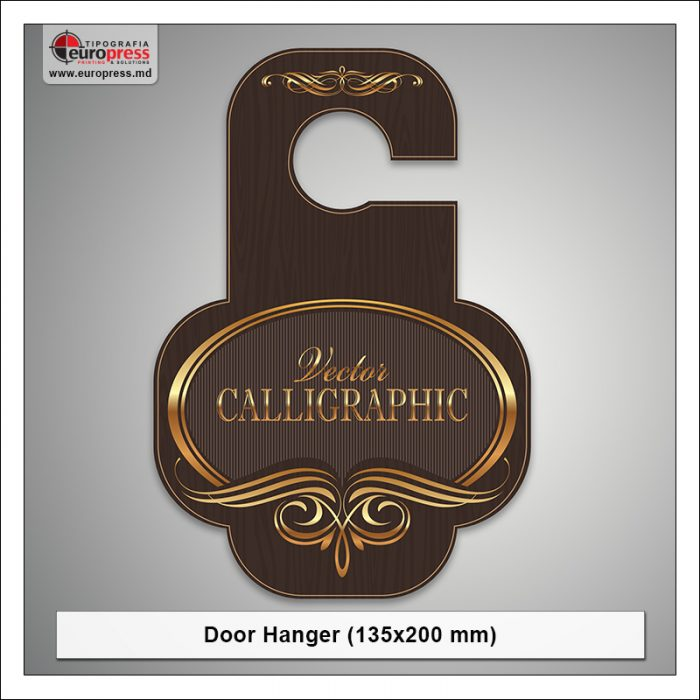Door Hanger 135x200 mm - Varietate Door Hangere - Tipografia Europress