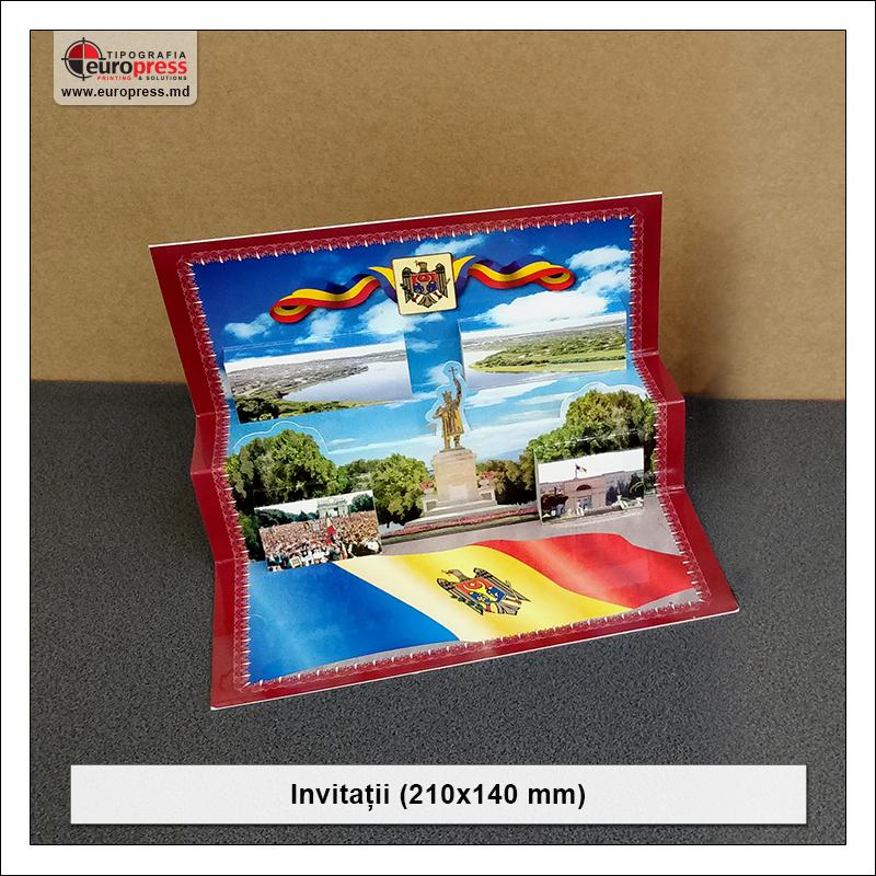 Invitatii 210x140 mm - Varietate Carti de Vizita - Tipografia Europress