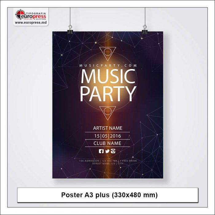 Poster A3 plus - Variety of Posters - EuroPress Printing House