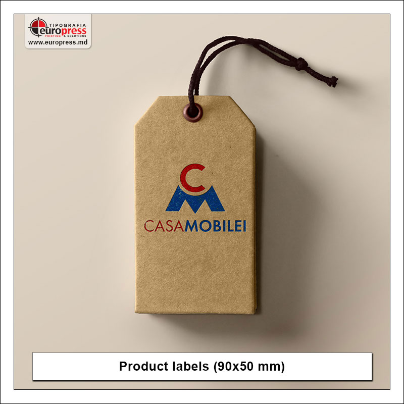 Product label 4 - Variety of Labels for products - EuroPress Printing House