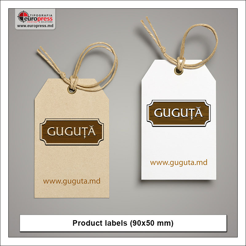 Product label 5 - Variety of Labels for products - EuroPress Printing House