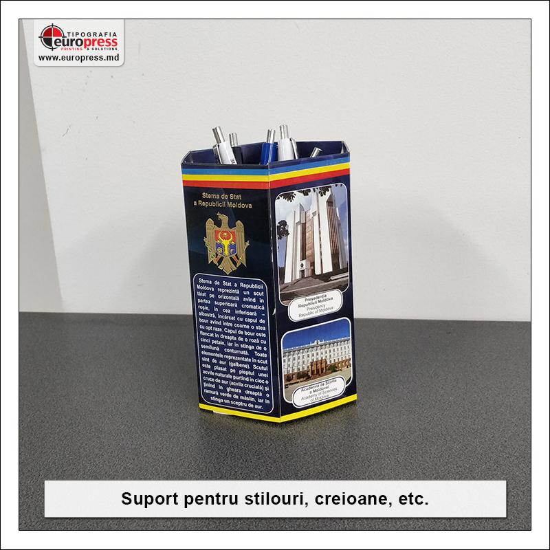 Suport pentru stilouri si creioane - Varietate Rechizite de Birou - Tipografia Europress