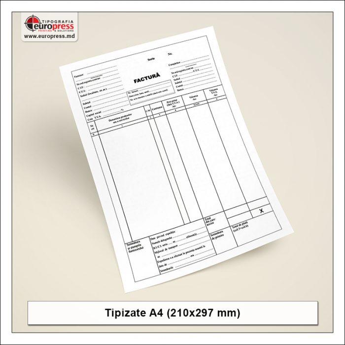 Tipizate A4 model 1 - Varietate produse tipizate - Tipografia Europress
