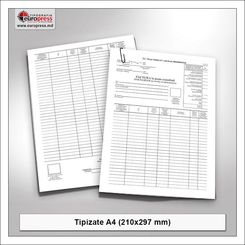 Tipizate A4 model 2 - Varietate produse tipizate - Tipografia Europress