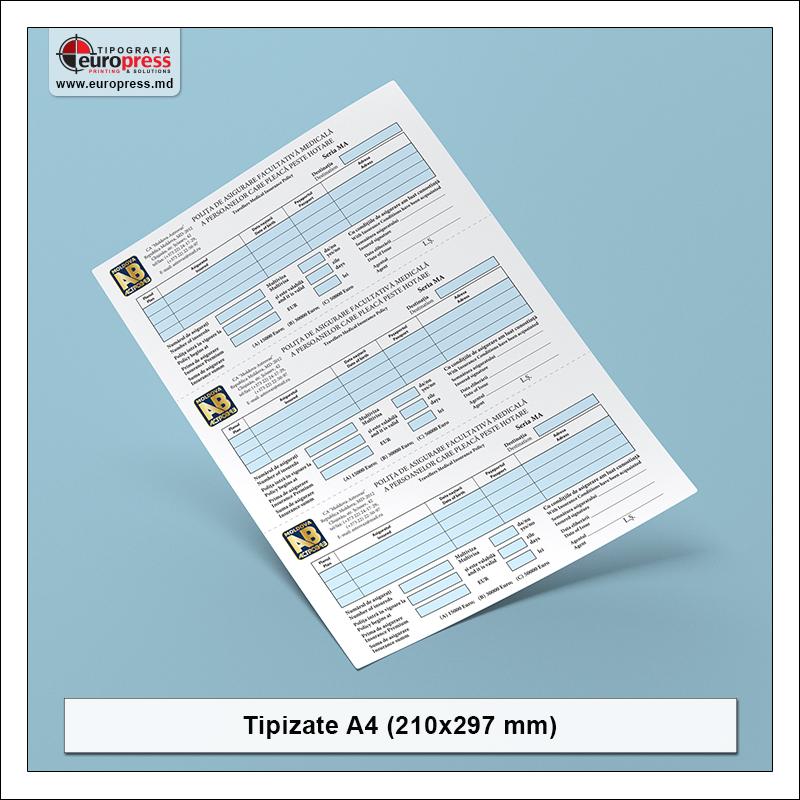 Tipizate A4 model 3 - Varietate produse tipizate - Tipografia Europress