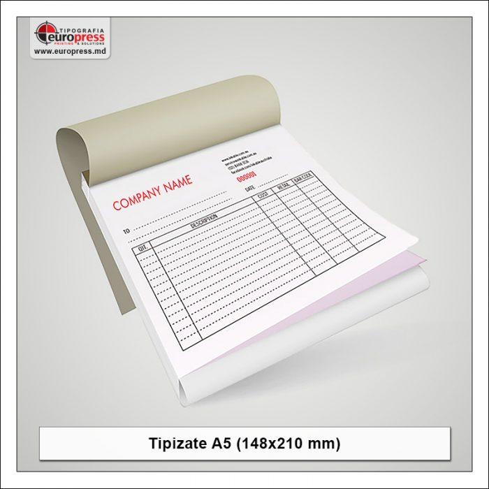 Tipizate A5 model 1 - Varietate produse tipizate - Tipografia Europress