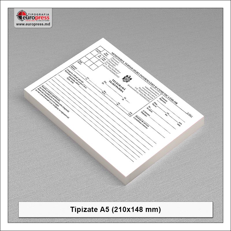 Tipizate A5 model 3 - Varietate produse tipizate - Tipografia Europress