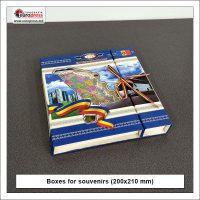 Boxes for souvenirs 200x210 mm - Variety of boxes - Europress Printing House