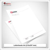 Letterheads A4 210x297 mm 1 - Variety of Letterheads - Europress Printing House